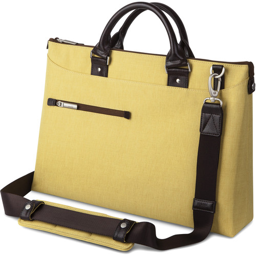 Moshi Urbana Briefcase (Tuscan Yellow)