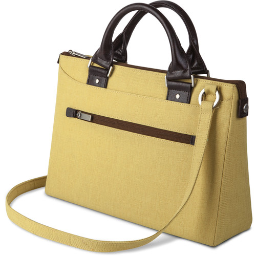 "Moshi Urbana Mini Slim Handbag for Apple 12"" MacBook or 10"" Tablet (Tuscan Yellow)"