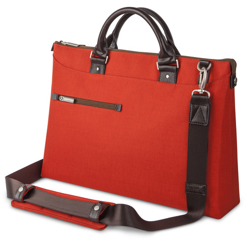 Moshi Urbana Briefcase (Persimmon Orange)