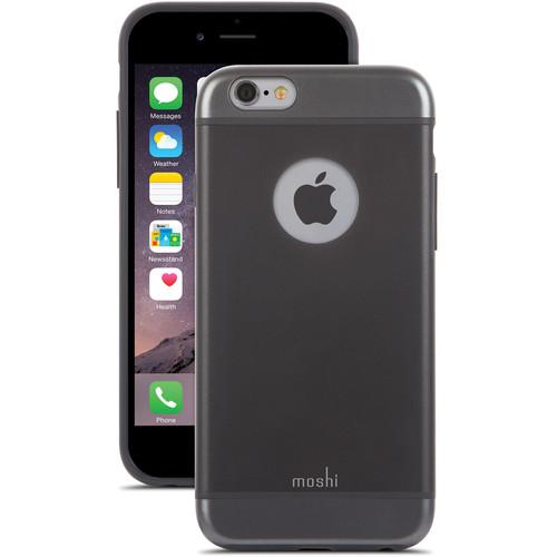 Moshi iGlaze Case for iPhone 6/6s (Graphite Black)