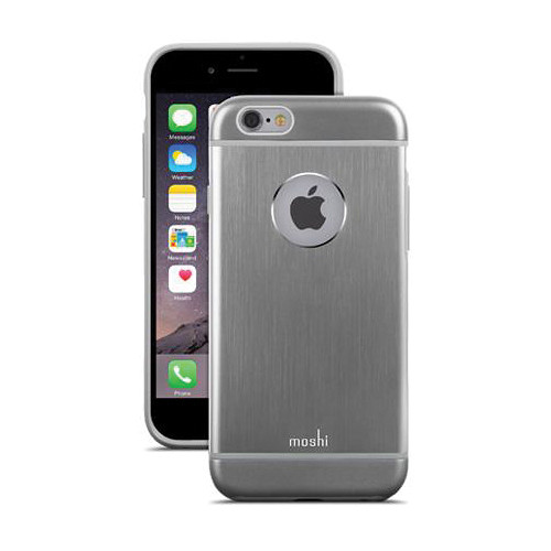 Moshi iGlaze Armour Case for iPhone 6/6s (Gunmetal Gray)