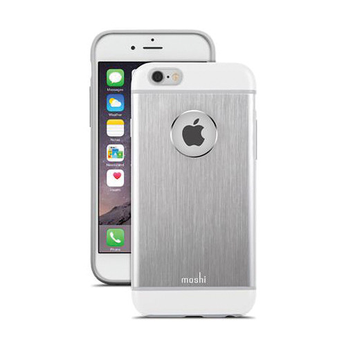 Moshi iGlaze Armour Case for iPhone 6/6s (Jet Silver)