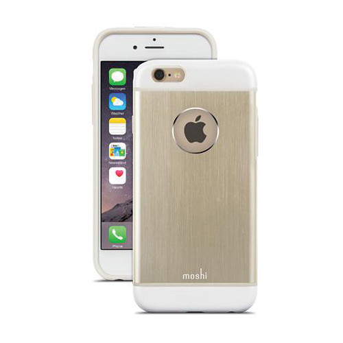 Moshi iGlaze Armour Case for iPhone 6/6s (Satin Gold)