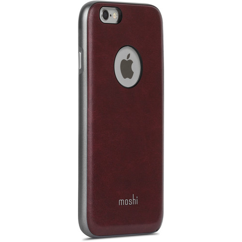 Moshi Napa Case for iPhone 6/6s (Burgundy Red)