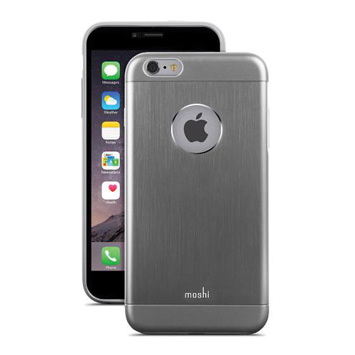 Moshi iGlaze Armour Case for iPhone 6 Plus/6s Plus (Gunmetal Gray)