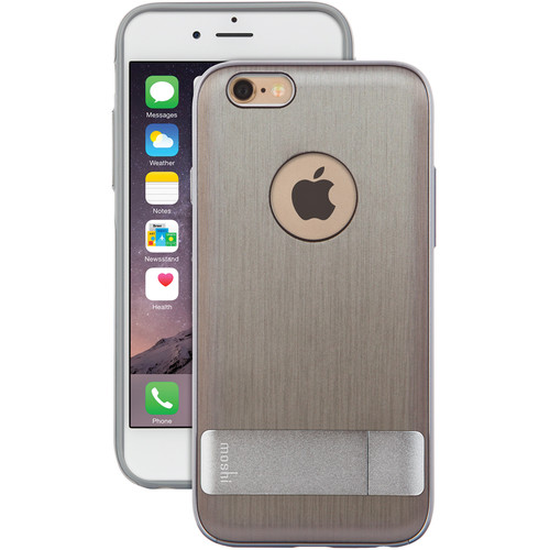 Moshi Kameleon Case for iPhone 6 Plus/6s Plus (Brushed Titanium)