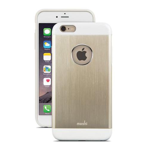 Moshi iGlaze Armour Case for iPhone 6 Plus/6s Plus (Satin Gold)