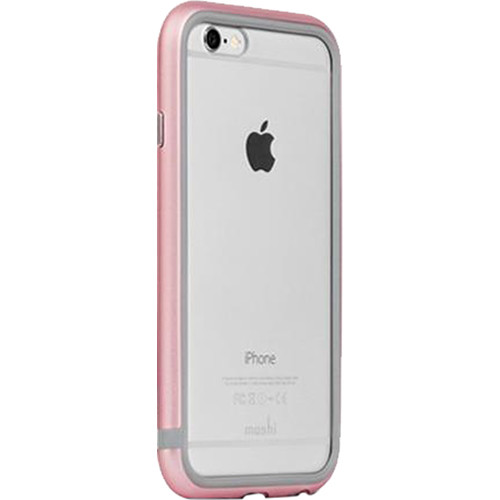 Moshi iGlaze Luxe Metal Bumper Case for iPhone 6 Plus/6s Plus (Rose Pink)
