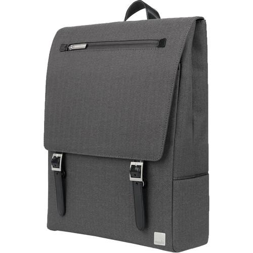 Moshi Helios Lite Slim Laptop Backpack (Herringbone Gray)