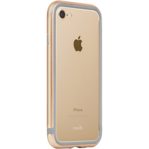 Moshi Luxe Metal Bumper Case for iPhone 7 (Gold)