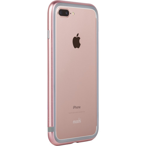 Moshi Luxe Metal Bumper Case for iPhone 7 (Pink)