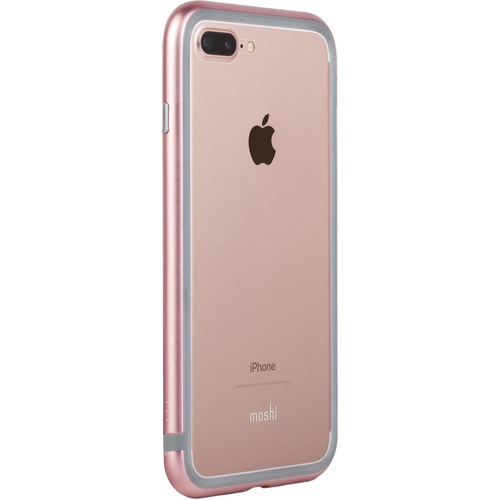 Moshi Luxe Metal Bumper Case for iPhone 7 Plus (Pink)