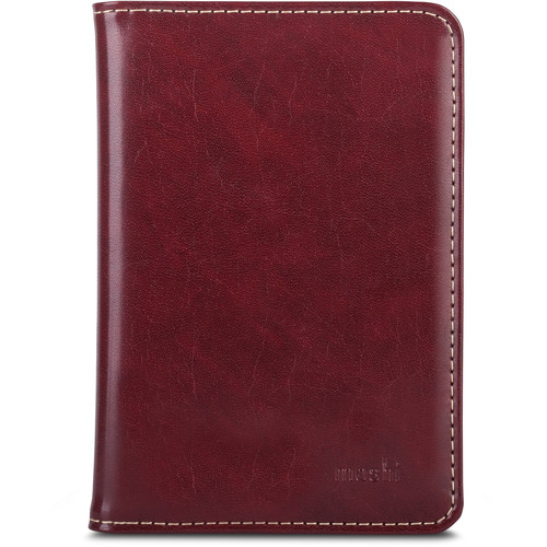 Moshi Travel Passport Holder (Burgendy Red)