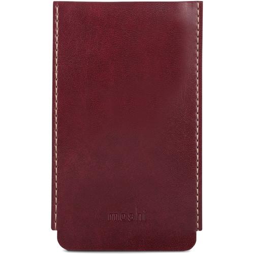 Moshi Vegan Leather Key Holder (Burgundy Red)