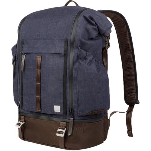 Moshi Captus Rolltop Backpack (Denim Blue)