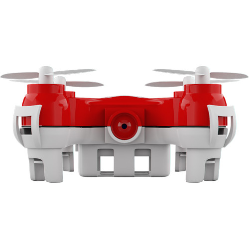 MOTA JETJAT Nano-C Camera and Video Drone with microSD Card Slot (Red)