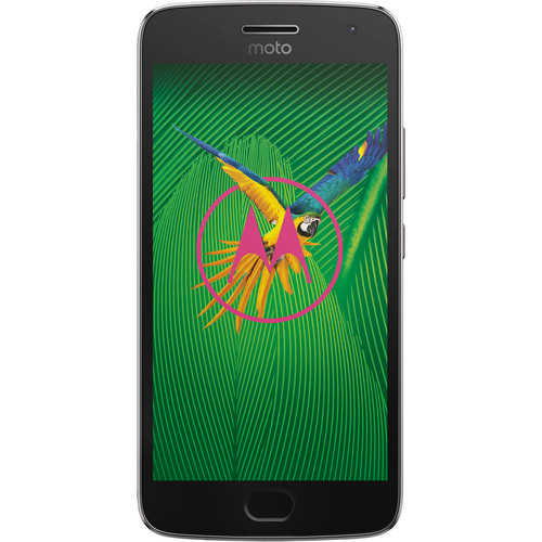 Moto Moto G5 Plus XT1687 64GB Smartphone (Unlocked, Lunar Gray)