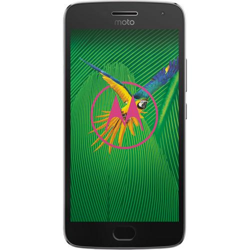 Moto Moto G5 Plus XT1687 32GB Smartphone (Unlocked, Lunar Gray)
