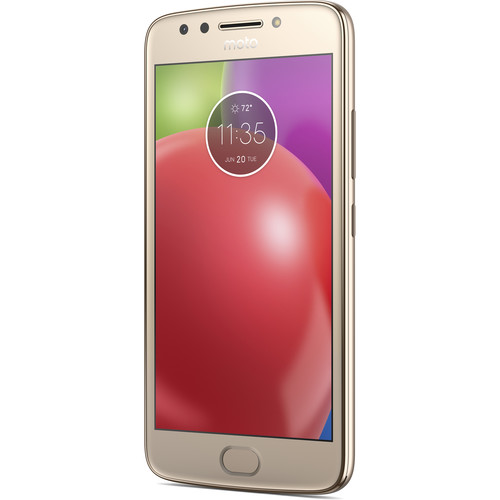 Moto Moto E (4th Gen.) XT1768 16GB Smartphone (Unlocked, Fine Gold)