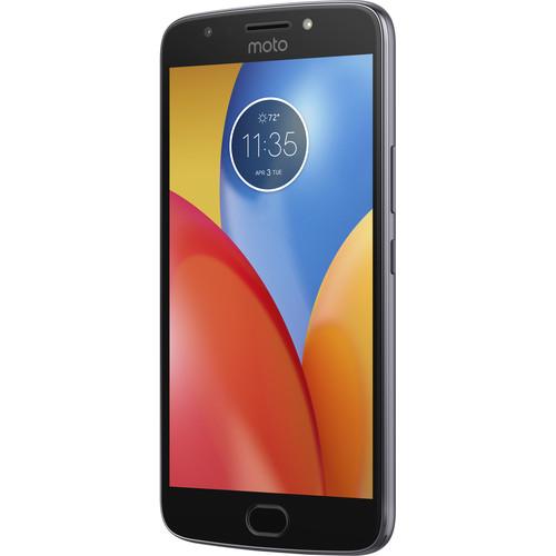 Moto E Plus (4th Gen.) XT1775 16GB Smartphone (Unlocked, Iron Gray)