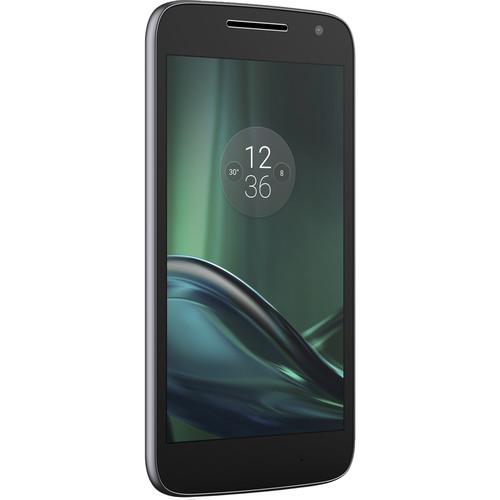 Moto Moto G Play 4th Gen. 16GB Smartphone with Frost/Black Case Kit (Unlocked, Black)