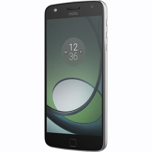Moto Moto Z Play 32GB Smartphone Kit with Insta-Share DLP Projector (Unlocked, Lunar Gray)