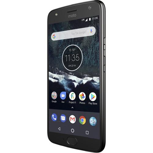 Moto X4 XT1900-1 64GB Smartphone (Unlocked, Android One, Super Black)