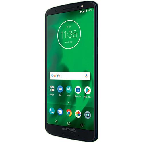 Moto G6 32GB Smartphone (Unlocked, Deep Indigo)