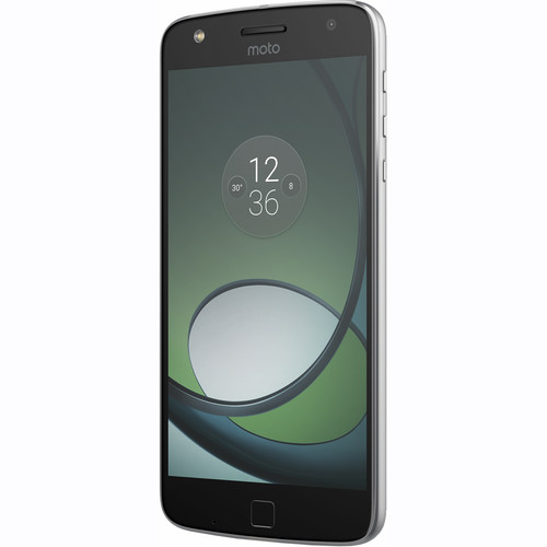 Moto Z Play XT1635 32GB Smartphone (Unlocked, Lunar Gray) with Hasselblad True Zoom Camera Kit
