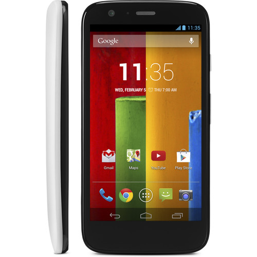 Moto Moto G XT1045 First Gen 8GB Smartphone (Unlocked, White)