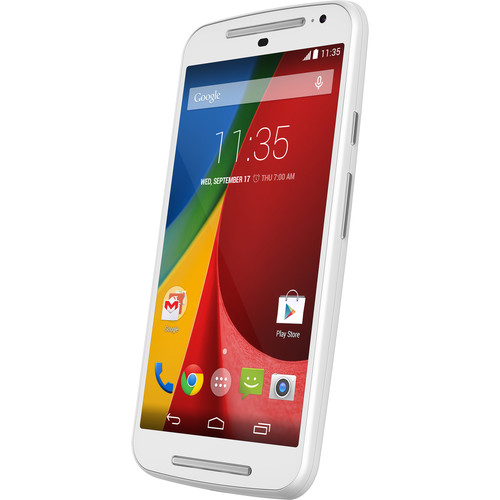 Moto Moto G XT1063 Global Variant 2nd Gen 8GB Smartphone (Unlocked, White)