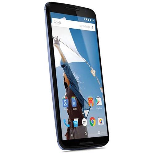 Motorola Nexus 6 XT1103 64GB AT&T Branded Smartphone (Unlocked, Midnight Blue)