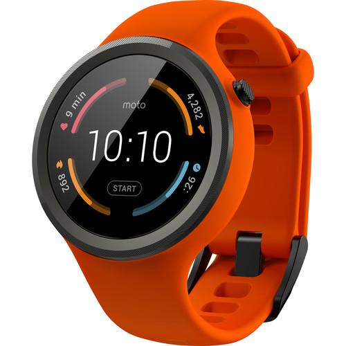 Moto 360 Sport Smartwatch (Flame)