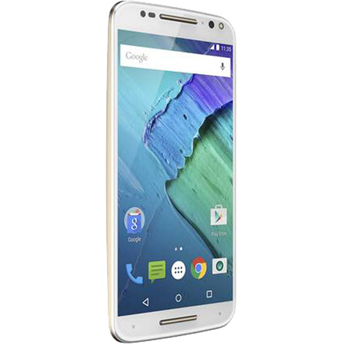 Moto X Pure Edition 32GB Smartphone (Unlocked, White)