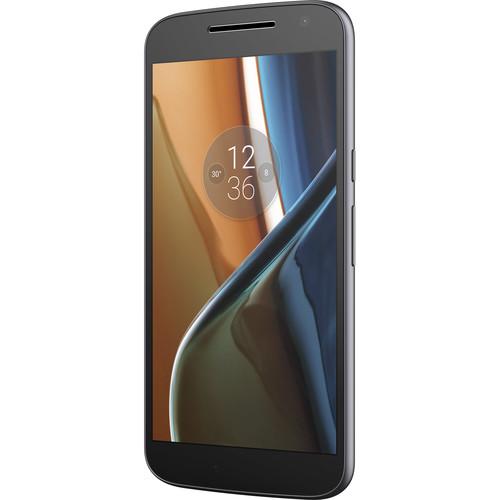 Moto Moto G XT1625 4th Gen. 16GB Smartphone (Unlocked, Black)
