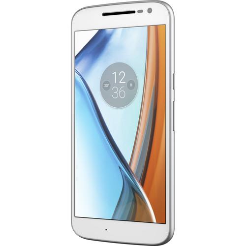 Moto Moto G XT1625 4th Gen. 32GB Smartphone (Unlocked, White)