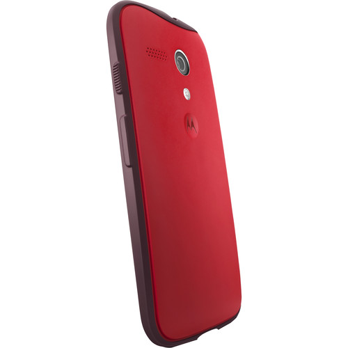 Moto Grip Shells for Moto G 1st Gen (Red/Dark Red)