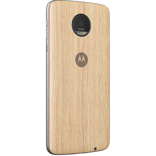 Moto Style Shell for Moto Z, Moto Z Droid, Moto Z Play, Moto Z Play Droid, & Moto Z Force (Washed Oak Wood)