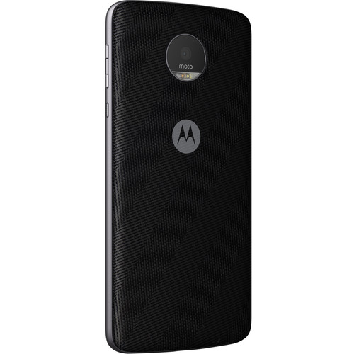 Moto Style Shell for Moto Z Family (Black Leather)