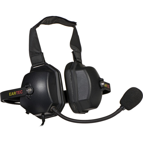 Motorola ET-XTRM-HD Double Muff Headset with Microphone for Hard Hat Use