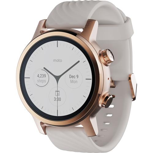 Moto 360 Smartwatch (Gen 3, Rose Gold)