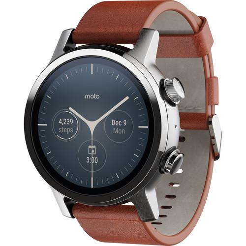 Moto 360 Smartwatch (Gen 3, Steel Grey)