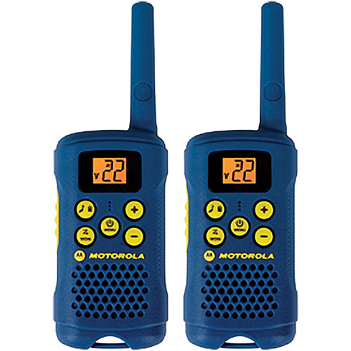 Motorola MG160A Talkabout Two-Way Radio (Pair, Blue)