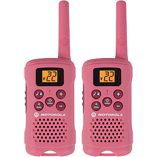 Motorola MG167A Talkabout Two-Way Radio (Pair, Pink)