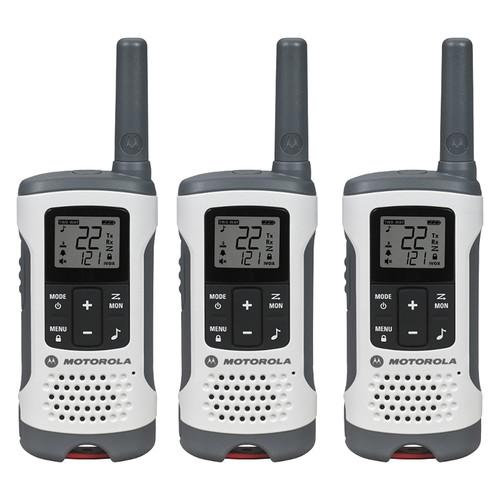 Motorola T260TP Two-Way Radio (White, 3-Pack)