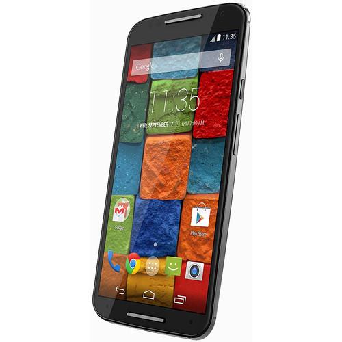 Motorola Moto X (2nd Gen) XT1097 16GB AT&T Branded Smartphone (Unlocked, Black)