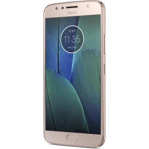 Moto G5S Plus XT1806 64GB Smartphone (Unlocked, Blush Gold)