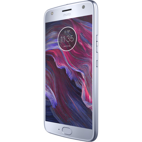 Moto X4 XT1900-1 32GB Smartphone (Unlocked, Alexa, Sterling Blue)