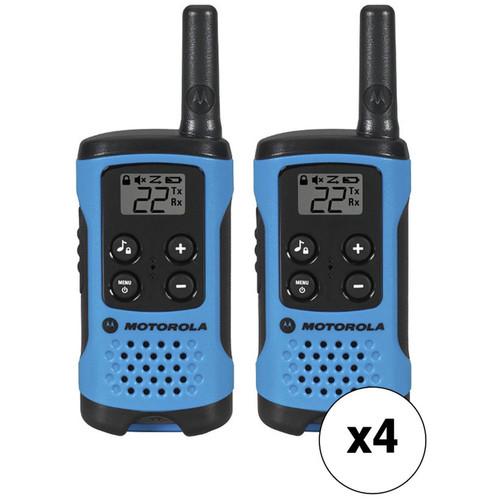 Motorola T100 Two-Way Radio Kit (8-Pack)