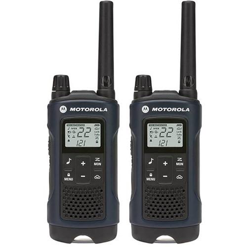 Motorola T460 2-Way Radio (Blue, 2-Pack)